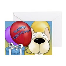 French Bulldog Birthday Greeting Cards (Pk of 10)