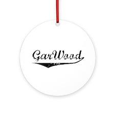 Vintage GarWood Boats Ornament (Round)