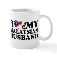 I Love My Malaysian Husband Mug
