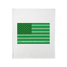 Green America Throw Blanket