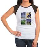 Think Outside the Barrel Women's Cap Sleeve T-Shir