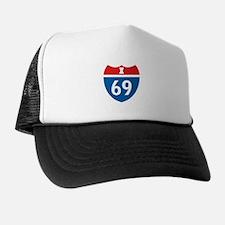 Interstate 69 I-69 Trucker Hat