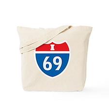 Interstate 69 I-69 Tote Bag
