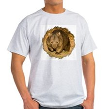 Wombat Ash Grey T-Shirt