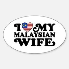 I Love My Malaysian Wife Decal