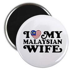 I Love My Malaysian Wife Magnet