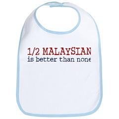 Half Malaysian Bib