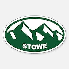 Stowe Vermont Sticker (Oval)