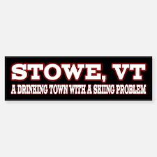 Stowe Vermont Bumper Bumper Sticker