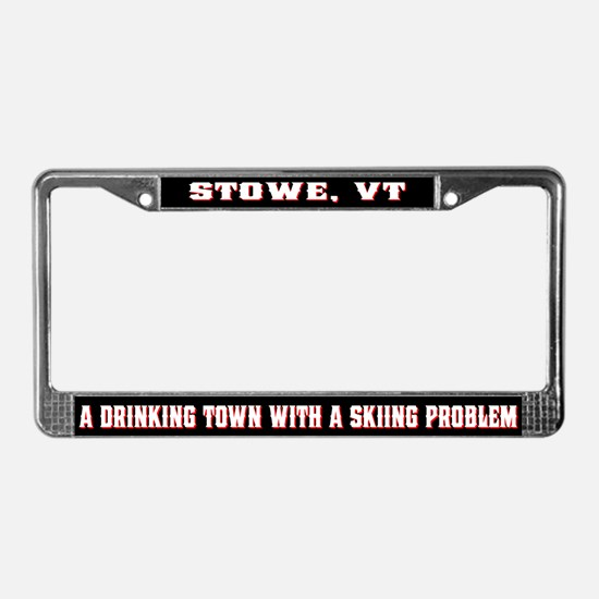 Stowe Vermont License Plate Frame