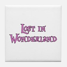 Lost in Wonderland Alice Tile Coaster