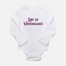 Lost in Wonderland Alice Long Sleeve Infant Bodysu