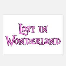 Lost in Wonderland Alice Postcards (Package of 8)
