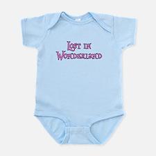 Lost in Wonderland Alice Infant Bodysuit