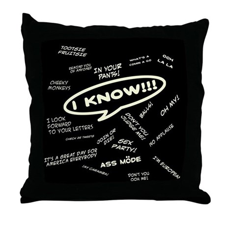 Fergisms Throw Pillow