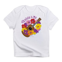 Ukulele and me Infant T-Shirt