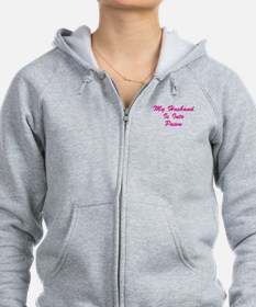 My Husband Is Into Pawn Zip Hoodie