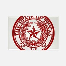 Cute Lone star state Rectangle Magnet