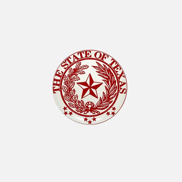 Cute Lone star state Mini Button