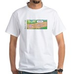 Tightly Wound White T-Shirt