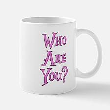 Who Are You? Alice in Wonderland Mug