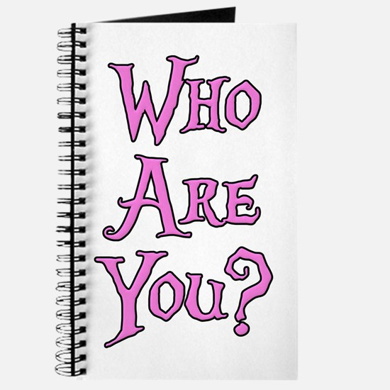 Who Are You? Alice in Wonderland Journal
