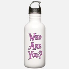 Who Are You? Alice in Wonderland Water Bottle