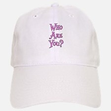 Who Are You? Alice in Wonderland Baseball Baseball Cap