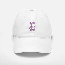 Who Are You? Alice in Wonderland Baseball Baseball Cap