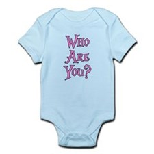 Who Are You? Alice in Wonderland Infant Bodysuit