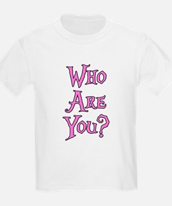 Who Are You? Alice in Wonderland T-Shirt
