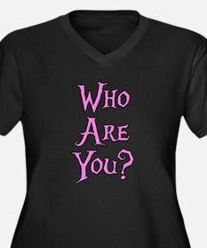 Who Are You? Alice in Wonderland Women's Plus Size