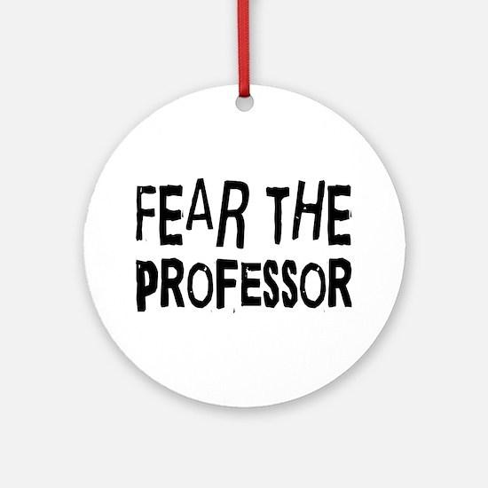 Professor Ornament (Round)