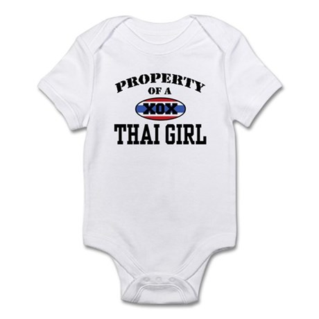 Property of a Thai Girl Infant Bodysuit