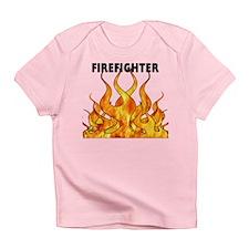 Firefighting Flames Infant T-Shirt