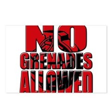 Jersey Shore No Grenades Allo Postcards (Package o