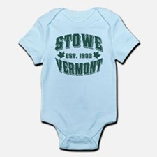 Stowe Old Style Vermont Green Infant Bodysuit