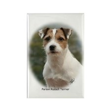 Parson Russell Terrier Rectangle Magnet