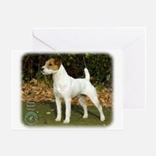 Parson Russell Terrier 9T016D-205 Greeting Card
