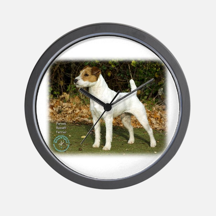 Parson Russell Terrier Clocks Parson Russell Terrier
