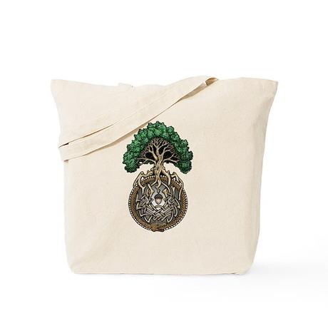 Ouroboros Tree Tote Bag
