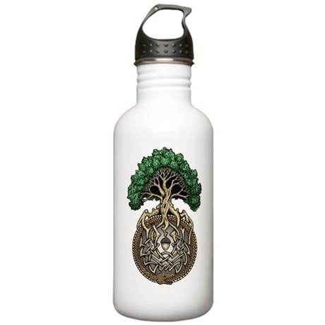 Ouroboros Tree Stainless Water Bottle 1.0L
