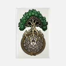 Ouroboros Tree Rectangle Magnet (10 pack)