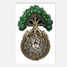 Ouroboros Tree Postcards (Package of 8)
