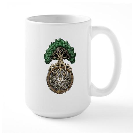 Ouroboros Tree Large Mug