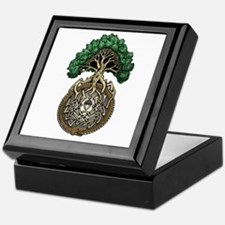 Ouroboros Tree Keepsake Box