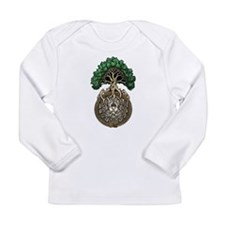 Ouroboros Tree Long Sleeve Infant T-Shirt