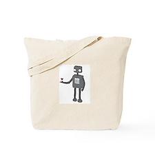 Cute Robotics Tote Bag