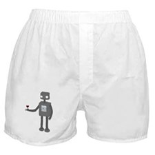 Funny Robot Boxer Shorts