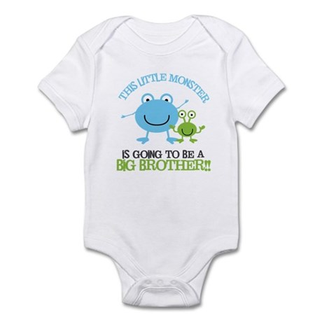 Going to Be Big Brother Monster Infant Bodysuit